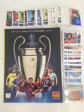 Champions League 2011/12 - PANINI Album vuoto+set completo 560 figurine stickers