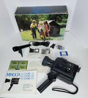 Minolta XL-Sound 64 Super 8 Movie Camera w/ 48mm 1:1.4 Zoom Lens