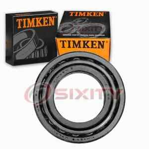Timken Differential Bearing & Race Set for 1988-1992 Audi 80 Quattro Manual px