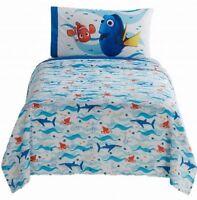 Disney Pixar Finding Dory Twin Bed Sheet Set, Kids Sheets 3 Pc