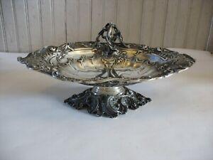 Vintage German 800 Silver Handled bowl E. Goldschmidt 791 grams early 1900s