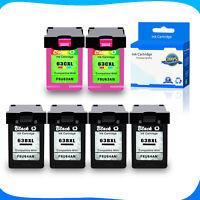 2x Black+2x Color 65XL Ink for HP Deskjet 2620 3750 2623 3762 2630 2634 2652