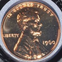1960 Small Date Lincoln Cent - Red Proof - Very Nice!
