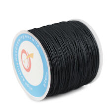 87Yard 0.6mm Waxed Thread String Cord Sewing Machine Stitching for Leather Craft