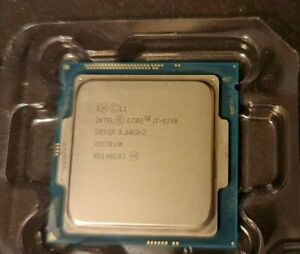 CPU Intel Core i7 4790 : 8 x 4.0ghz turbo - ref : SR1QF