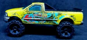 Hot Wheels '97 Ford F-150 Yellow from 2011 Team LOOSE