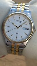 Seiko SQ Mens Vintage Quartz Watch 5Y23-7050 - Lovely with minimal sign of use