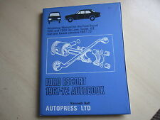 VINTAGE FORD ESCORT  Workshop Manual, 1967-72, 1100/1300, GT, Van, ONE OWNER