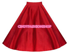 New Women American Apparel Midi Skirt Plus Size High Waist Skirt TUTU A-Line