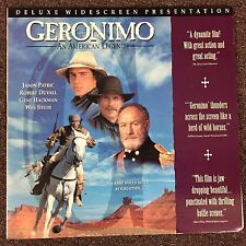 GERONIMO - AN AMERICAN LEGEND Laserdisc LD [58706]