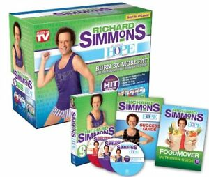 Richard Simmons Project Hope DVD Box Set 90 Day Weight Loss