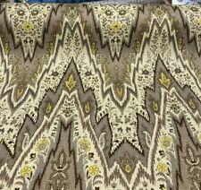 Waverly Williamsburg Bray Flamestitch Birch Fabric By the Yard