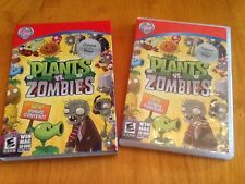 PLANTS VS. ZOMBIES 2010 WIN/MAC CD-ROM perfect disc! Game of the Year Edition
