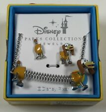 Disney Parks Collection Jewelry Toy Story Slinky The Dog Necklace & Earrings Set