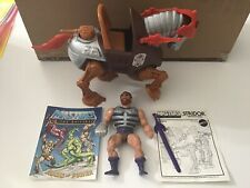 He-Man FISTO & STRIDOR With instructions and comic 100% complete