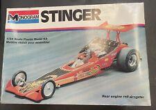 "vintage Monogram ""Stinger""drag car model kit"