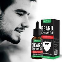 Natural Beard Growth Beard Beard Mustache Softener Essential Oil Thicker Care