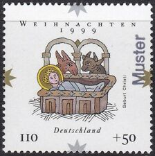 Specimen, Germany ScB861 Christmas, Manger
