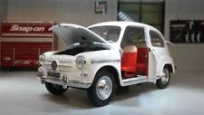 Artículos de automodelismo y aeromodelismo color principal blanco Fiat de escala 1:24
