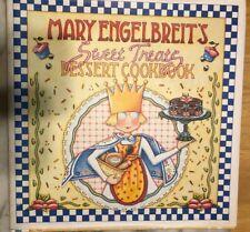 "Mary Engelbreit Hard Cover ""Sweet Treats Dessert Cookbook"" 1999"