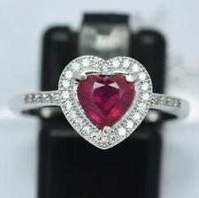 Gioielli di lusso naturali cuore argento