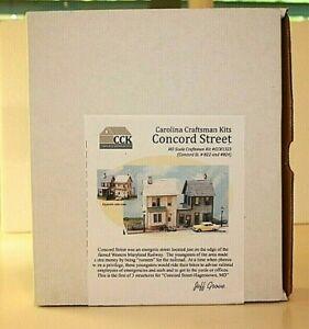 HO Carolina Craftsman Kits #1323 Concord Street Houses (2