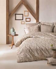 4 tlg Bettwäsche Bettgarnitur Bettbezug 100% Baumwolle Kissen 200x220 cm DEFNE B