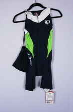 Pearl Izumi INRCOOL Elite Womens Tri Cycling Suit Pink/Black Green/Black S or M