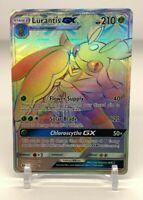 RAINBOW SECRET HYPER FULL ART RARE Lurantis GX 150/149 Pokemon Sun & Moon NM