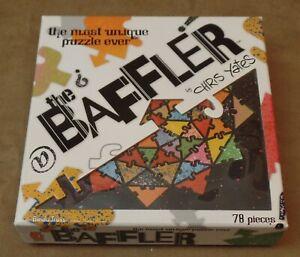 The Baffler Puzzle, 78 Pieces, Unique jigsaw puzzle, by Chris Yates