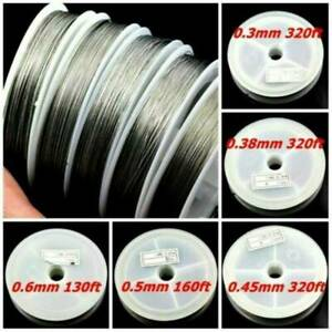 1Roll-100m DIY Strong Stainless Steel Beading Wire Tiger Tail For Jewelry Making