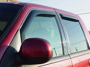 In-Channel Wind Deflectors for 2006 - 2008 Lincoln Mark LT