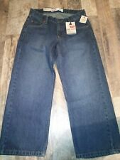 Levi's 550 Relaxed Adjustable Waistband Jeans boy's size 8 Husky W28 x L23