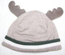 Gymboree Baby Boys *NWOT* Knit Reindeer Hat Cap 6-12 mos