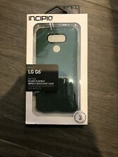 Incipio NGP PURE Clear Flexible Impact Resistant Case for LG G6 - Mint Green