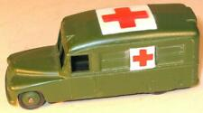 DINKY TOYS No30hm DAIMLER MILITARY AMBULANCE.RARE US EXPORT ISSUE 1952 EXCELLENT