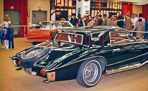 1972 35mm slide Car Show, Virgil Exner's Stutz Black Hawk
