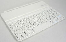 Logitech Ultrathin White & Aluminum Bluetooth Keyboard Cover for iPad 2, 3, 4