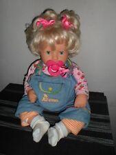 Zapf Puppe Chou Chou Bijoux 48 cm blond 1998 Top gepflegt