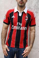 ADIDAS El Shaarawy 92 Top Football T-Shirt Boy's ACM Milan Italy 15-16 yrs Men S