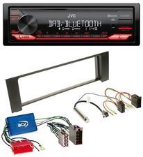 JVC DAB MP3 Bluetooth USB Autoradio für Audi A4 B6 00-04 Aktivsystem Mini-ISO