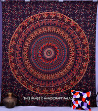 Hippie Indian Tapestry Wall Hanging Mandala Queen Bedspread Throw Tapestries Art