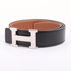 Hermes Constance H Belt □ R Engraved (2014) Belt Bock scarfx Taurillon Cle...