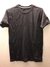 "Hanes Black Lay Flat Collar Men's Tagless T-Shirts- Size S 34-36""- NWOT!"