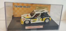 Team Slot 1/32 Renault 5 Maxi turbo Carlos Sainz