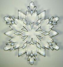 """Ausstecher/Ausstechform """"SCHNEEFLOCKE"""" 19 cm XXL - Eiskristall, Kristall"""