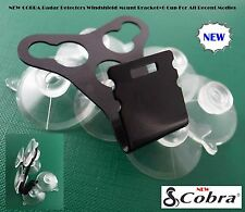 1 COBRA Radar Detectors Windshield Mount Bracket + 6 Cup For All Recent Models *