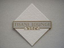 TISANE LOUNGE SHERATON TOWERS SOUTHGATE MELBOURNE 03 6264091 COASTER
