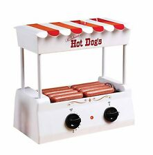 Nostalgia Electrics Vintage Collection Old Fashioned Hot Dog Roller HDR565, New