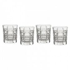 Waterford Crystal CROSBY 10 Oz. Tumblers DOFS Set / 4 - NEW!
